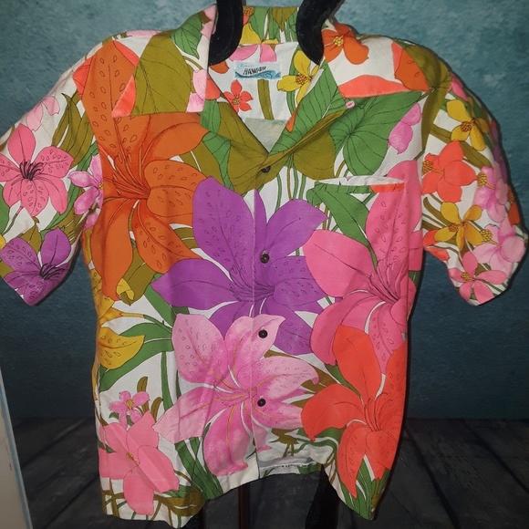 2365916e jcpenney Tops | 5sale Vintage 70s Jc Pennys Hawaii Shirt 14 | Poshmark